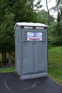 Just What We Wanted - Our Very Own Porta-Potty!